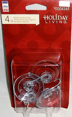 Holiday Living Medium Suction Cups 4 Pk