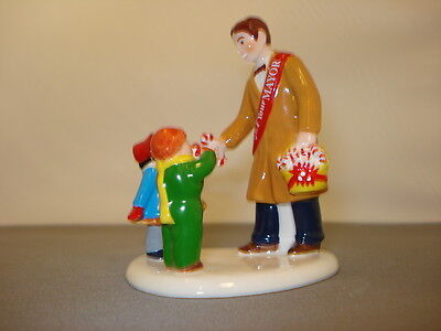 Department 56 Snow Village Candy Canes from the Mayor accessory