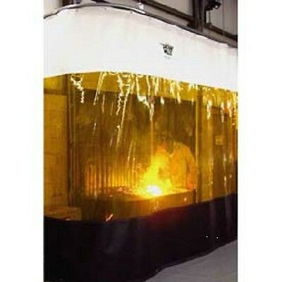 NEW! Goff's Weld Curtain w/Hardware 12'W x 10'H!!