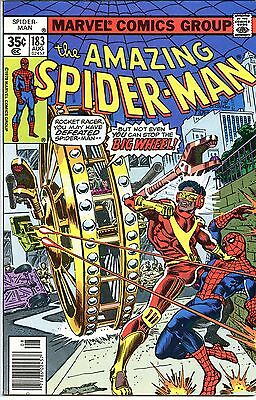 Amazing Spider-Man #183 Big Wheel