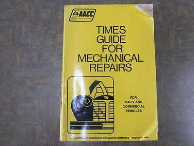 AACC Times Guide For Mechanical Repairs Manual
