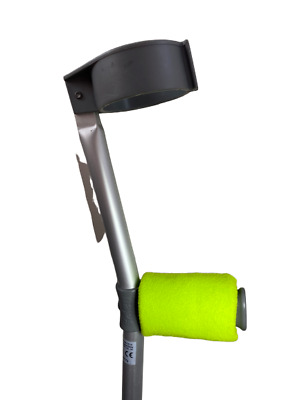 Padded Handle Comfy Crutch Covers - Green