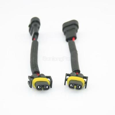 2) 9006 To H11 H8 Headlight Fog Light Conversion Connector Wiring Harness Socket