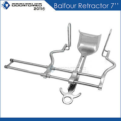 "BALFOUR RETRACTOR 7"" Gyno Tools Surgical Instruments"