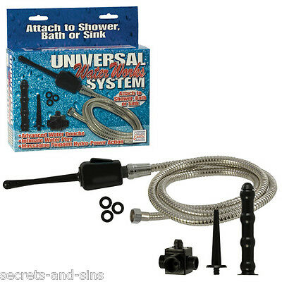 Universal Water Works System Douche Vaginal & Anal Code: AA145