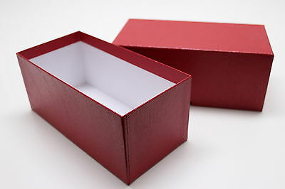 Storage Box for Large Currency Sleeve Holders Made for Old Bank Notes