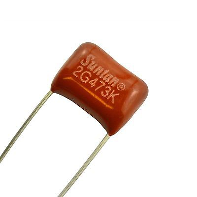Mylar Tone Capacitor  0.047µf for Straocaster Telecaster Electric Gibson Guitars