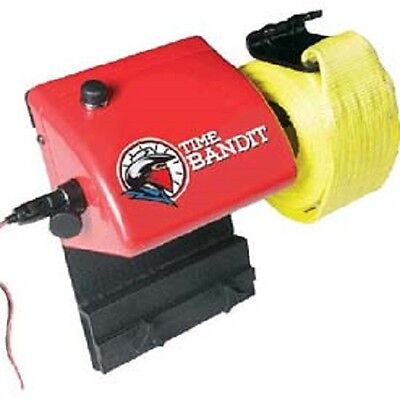 NEW! Time Bandit Portable 12V Electric Cargo Strap Winder!!