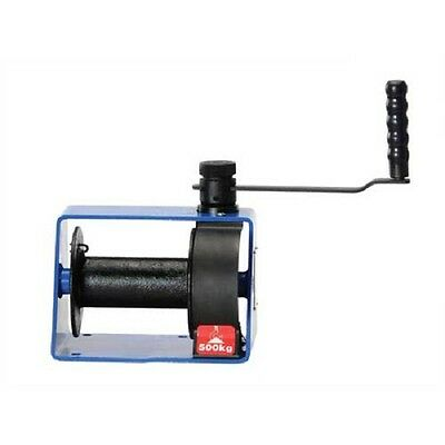 NEW! Hand Operated Worm Gear Winch 1000 Lb. Capacity!!