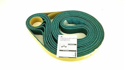 "3M SCOTCH-BITE 04297 2"" x 132"" Aluminum Oxide Abrasive Belt Box of 5 Belts 1S"