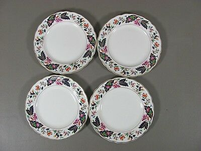 Grindley China STRATHCONA Set of 4 Bread & Butter Plates