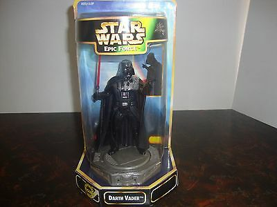 "Star Wars---Epic Force---Darth Vader---Rotating Figure---5"" Tall---1997"