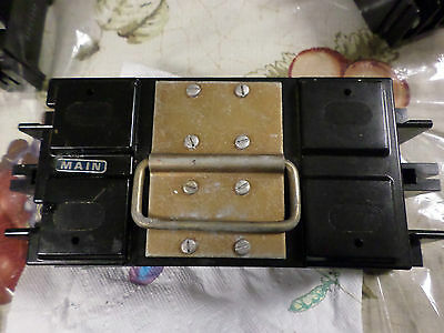 Square D 2 Pole 200 Amp Main Fuse Pull Out And Holder Qty-(1) Free Us Shipping