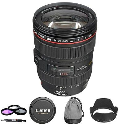 New Canon 24-105mm f/4L IS USM Lens - Brand New