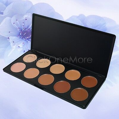 MMG - 10 Color Camouflage Concealer Palette Face Cosmetic Makeup Cream