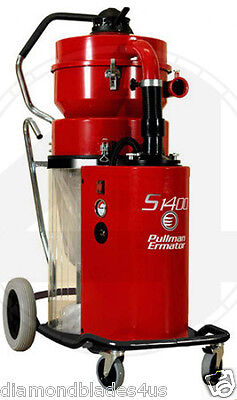 Ermator S1400 HEPA Heavy Duty Dust Collector Vac 4 Concrete Grinder Pro vac