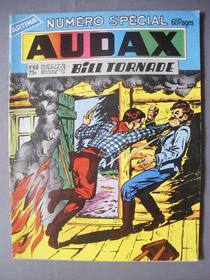 ► Audax - Bill Tornade - N°68 Numero Special 68 Pages - 1958 - Tbe