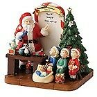 Royal Doulton Holiday Traditions Santa's Toy Testing Figurine