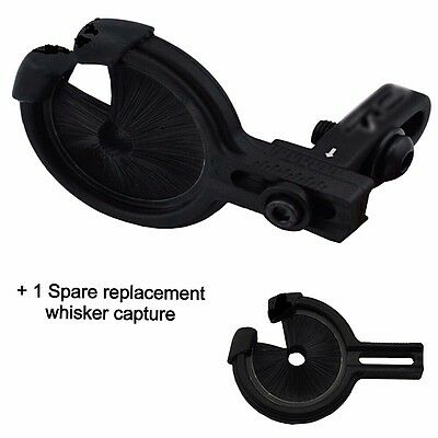 Archery bow Black Deadshot - Arrow Rest for  LH or RH suits compound & Recurve