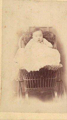 Late 19th Century Baby Toddler Child Cabinet Photo
