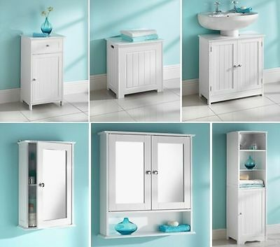 New style Bathroom unit clean Lines and a crisp white finish cabinet,cupboard