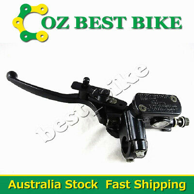 10mm Banjo Front Left Brake Lever Master Cylinder ATV Quad Pit Pro Dirt bike