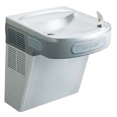 Elkay ADA Barrier Free Water Cooler-Stainless Steel-Wall Hung-115V-60Hz-5 Amps