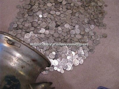 $25 Face Pre-1965 90% Silver Bullion Mixed Lot Old US Coins Bag