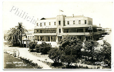 1930's Rp Postcard Hotel Renmark Sa Alfred Jack Gibbons Local Photographer Z33.