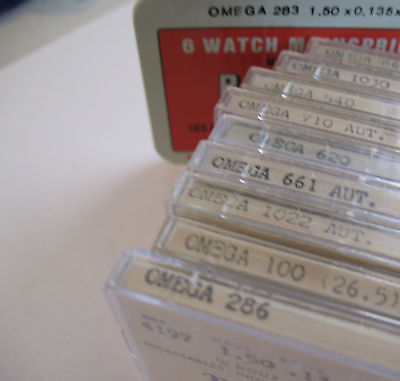 Omega Assorted Swiss Made Replacement Mainsprings