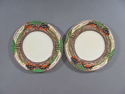 Myott China ENGLAND'S COUNTRYSIDE-SCALLOPED Set of 2 Bread & Butter Plates