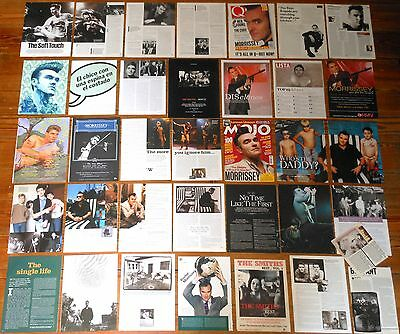 THE SMITHS Morrissey clippings collection 1990s/2010s magazine photos lot