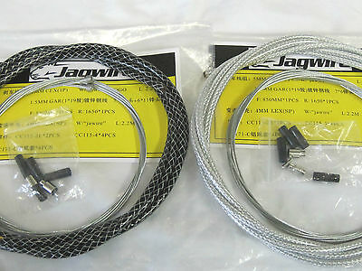 Jagwire MTB Road Bike Bicycle Braided Brake Housing Cables Inner Wires Set Kit