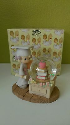 Precious Moments Girl With Diploma Waterball 537888 (new in the box)