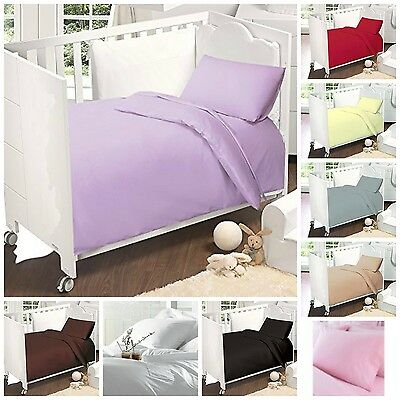 Love2Sleep 100% EGYPTIAN COTTON COT BED FITTED SHEET 70 X 140 CM
