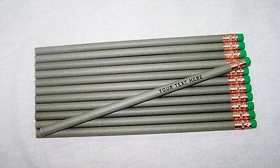 """12  """"Recycled MONEY""""  Personalized Pencils"""