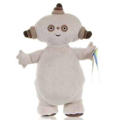 """New Official 10"""" Makka Pakka Soft Toy Plush From In The Night Garden"""