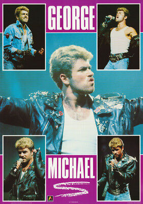 Poster: Music: Wham ! - George Michael - Free Shipping - #a377 Rap7 B