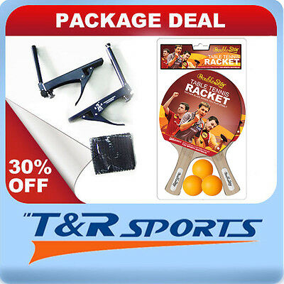 Package Deal Double Star Rackets&balls+Double Fish Table Tennis/ping Pong Net