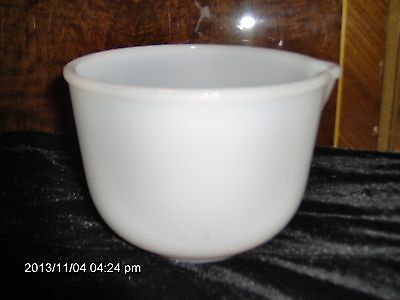 Glasbake 20 Cj  For Sunbeam Mixing Bowl With Pour Spout
