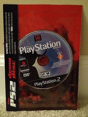 Rare In-Sleeve ICO Playstation 2 Magazine Issue 49 DEMO DISC Colossus Shadow