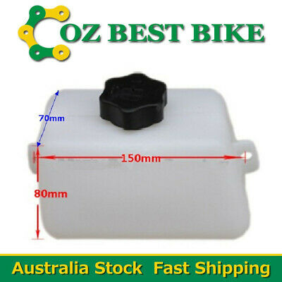 FUEL PETROL PLASTIC TANK 2-Stroke 43 47 49cc MINI POCKET ROCKET DIRT TRAIL BIKE