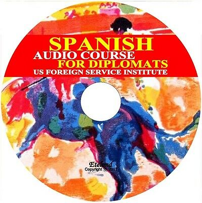 Spanish Language Audio Course for Diplomats Foreign Service Institute (FSI)/DVD