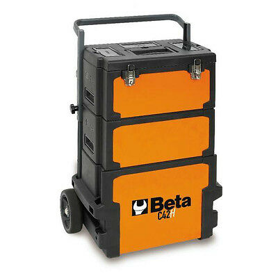 Beta Tools C42H - 4200H Three-module Tool Trolley ToolBox Mobile Work Chest