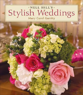 Nice Hb Book Nell Hill's Stylish Weddings Mary Carol Garrity Free Shipping