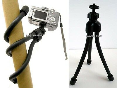 Heavy Duty Flexible Tripod For Dslr Camera Camcorder Olympus Tough Nikon Coolpix