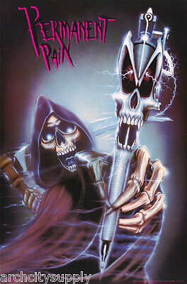 Poster : Fantasy: Permanent Pain - Grim Reaper  - Free Shipping  #3214 Lp57 S