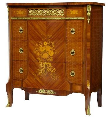 EARLY CENTURY 20TH CENTURY MAHOGANY INLAID COMMODE CHEST OF DRAWERS