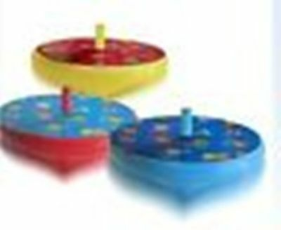 Mookie Peppa Pig Spinning Tops - Pack of 3 Spinning Tops (BT163)