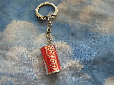 Coca-Cola Mini Foil Wrapped Can Key Chain